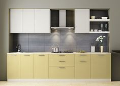 Customize your kitchen interiors and get a dream modular kitchen specially designed for Indian homes. Browse the latest modular kitchens designs in India. Kitchen Room Design, Kitchen Cabinet Design, Modern Kitchen Design, Kitchen Interior, Kitchen Decor, Kitchen Ideas, Modern Kitchen Cabinets, Kitchen Furniture, L Shaped Modular Kitchen