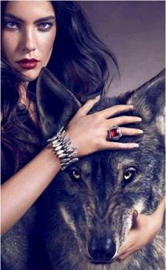 woman who runs with wolf.