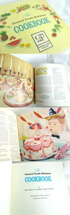 Vintage 1959 General Foods Kitchens Cookbook
