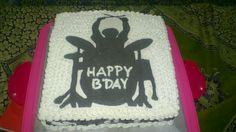 Drummer Cake. Transfer image.