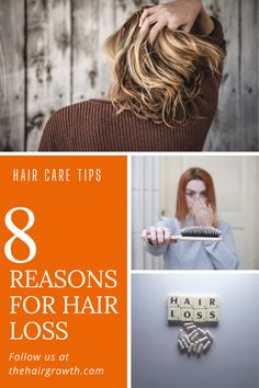 We will share with you top 8 reasons for hair loss. To cure hair thinning and hair fall, we must first know the cause behind it. Reasons For Hair Loss, Reason Of Hair Fall, Excessive Hair Fall, Hair Cure, Hair Strand, Loose Hairstyles, Hair Care Tips, Fall Hair, Hair Growth