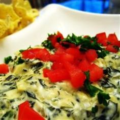 Artichoke  Spinach Dip Restaurant Style