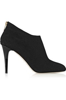 I love booties and heels- so this is the perfect mix. Plus, black goes with EVERYTHING.