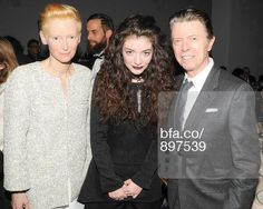 David Bowie, Karl Lagerfeld, Anna Wintour and singer Lorde all joined Tilda Swinton as she celebrated her birthday at the Museum of Modern Art 2013 Film benefit - A Tribute To Tilda Swinton in New York…. Angela Bowie, David Bowie, David Lee, Tilda Swinton, Lorde, Duncan Jones, Brit Awards 2016, The Thin White Duke, Thing 1