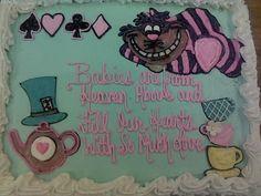 Alice in Wonderland Baby Shower theme