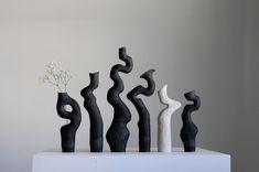 Kerryn Levy Ceramics Pottery Pots, Ceramic Pottery, Thrown Pottery, Slab Pottery, Ceramic Studio, Ceramic Clay, Porcelain Clay, Ceramic Bowls, Vases