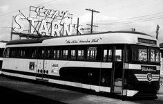 1941 Brilliner Streetcar.