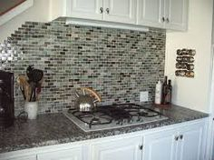 white cabinets with dark countertops - Google Search