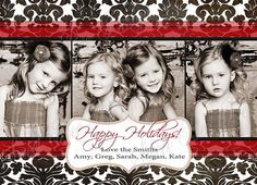 Christmas Photo Card  Holiday Photo Card  by SweetBeeDesignShoppe