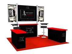10x10 Trade Show Booth Design