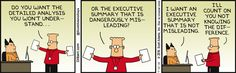Not Knowing The Difference Monday -  Dilbert Comic Strip on 2016-09-12 | Dilbert by Scott Adams