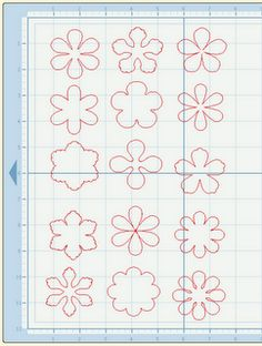 printable flower shapes