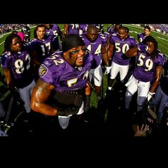 Ravens defeat Andrew Luck & Indianapolis Colts, 24-9 on January 6 2013.  Ray Lewis' home finale.