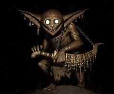 "theamazingdigitalart: "" The amazing digital art of Ariel Perez 100 Ways to Create Fantasy Figures "" Fantasy Figures, Fantasy Characters, Dnd Characters, Larp, Dark Fantasy, Fantasy Art, Goblin Art, Character Art, Character Design"