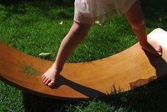 Waldorf Wooden Balance Board | Rocker Board