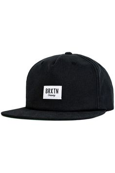 c623582d71d The Hoover Snapback Hat from Brixton. The Hoover is a five–panel cut and  sew corduroy cap with a custom woven patch and adjustable leather strap.