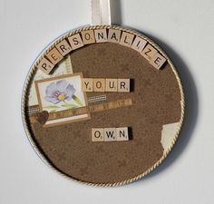 Personalized Photo Frames + Personlized Message Up To 15 Letters on Magnet Board!