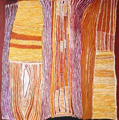 Ray Ken - Kulata Tjuta - 198x197 cm http://www.aboriginalsignature.com/art-aborigene-tjala/ray-ken-kulata-tjuta-198x197-cm