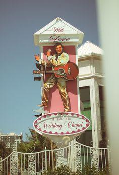 Little White Wedding Chapel, Vegas Baby! Via offbeat bride