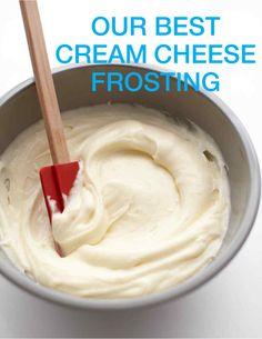 Cream Cheese Frosting   Martha Stewart Living - Try Martha Stewart's quick and easy cream cheese frosting recipe! Cream cheese frosting is a delicious delight atop cupcakes and a favorite on pumpkin cake, carrot cake and more!