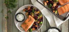 roasted trout beets dill