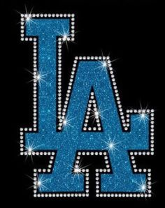 A personal favorite from my Etsy shop https://www.etsy.com/listing/478830890/los-angeles-dodgers-glitter-rhinestone
