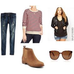 """Casual Day"" by cara-weidinger on Polyvore"
