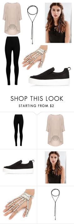 """""""Sans titre #191"""" by avalonmalfoy ❤ liked on Polyvore featuring Wolford, Mat, River Island and REGALROSE"""