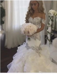 Robe De Mariage 2017 Hot Sale Sweetheart Wedding Dresses Mermaid Custom Made Luxurious Beading Wedding Dress Vestidos De Novia Bridal Gowns Plus Size Wedding Dresses Beach Wedding Dresses From Partydresses, $231.16| Dhgate.Com