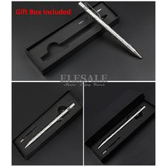 New Stainless Steel Tactical Pen With Led Light Knife For Self Defense Weapon Glass Breaker EDC Tool Gift Box Dropshipping