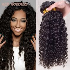 Brazilian Water Wave Virgin Hair 3 Bundles Soft Wet And Wavy Virgin Brazilian Hair Cheap 8A Grade Virgin Unprocessed Human Hair *** Cari tahu lebih lanjut dengan mengklik gambar