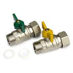 """Swivel Water / Gas Kit 3/4"""" Brass Fittings, Copper, Industrial, Kit, Water, Products, Gripe Water, Industrial Music, Brass"""