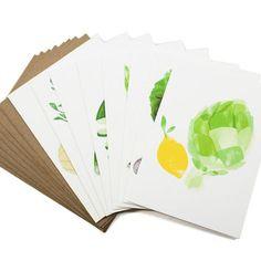 Seasonal Harvest Cards Set of 8