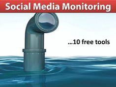 10 Free Social Media #Monitoring #Tools #socialmedia