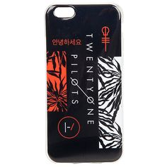 Twenty One Pilots iPhone 6 Case Hot Topic ($10) ❤ liked on Polyvore featuring accessories and tech accessories