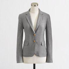 Factory tailored boy blazer