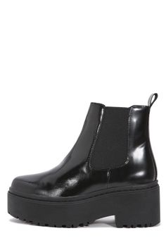 Jeffrey Campbell Shoes UNIVERSAL Boots in Black Box
