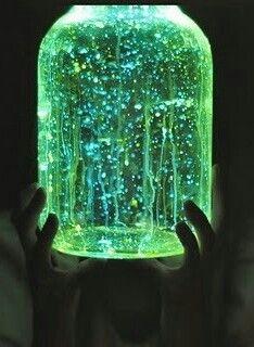 Glow in dark jar