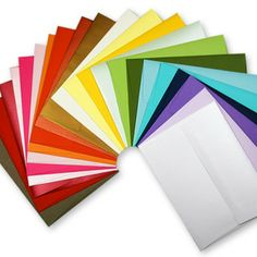 Handmade Envelopes in 25 colors  tgraydesigns.storenvy.com
