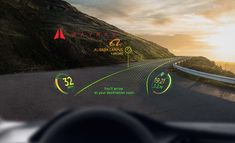 WayRay Augment Reality Navigation System for Alibaba