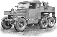 The Scammell Register 6x6 Truck, Jeep Truck, Vintage Trucks, Old Trucks, British Tanks, British Army, Military Equipment, World War One, Commercial Vehicle