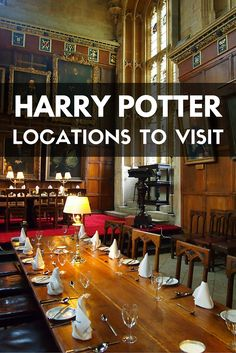Harry Potter locations in the UK