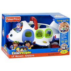 Little People Lil' Movers Airplane