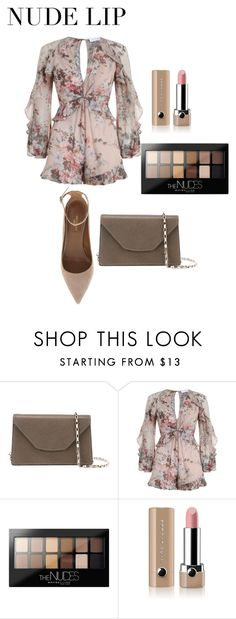 """Untitled #1674"" by nadia-n-pow on Polyvore featuring beauty, Valextra, Zimmermann, Maybelline, Marc Jacobs, Aquazzura and nudelip"