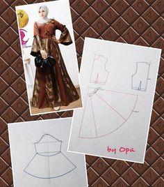 Source by brokat Best Dress Brokat Pola Ideas Vestido Batik, Batik Dress, Blouse Dress, Batik Fashion, Diy Fashion, Vintage Formal Dresses, Nice Dresses, Dress Sewing Patterns, Clothing Patterns