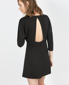 DRESS WITH BACK OPENING from Zara