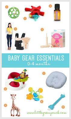 10 Must-Have Baby Essentials for Newborns | Little Green Pouch