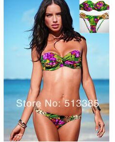 New In 2014 Floral Print Swimsuit For Women, bikini swimwear monokini bikinis beachwear bathing suits LP $14.69