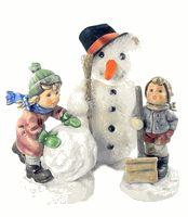 Hummel Frosty Friends Collectors Set (L/E) Hummel Figurine 2035/2036