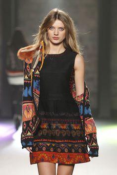 bohemian. like the dress, not the jacket.